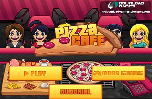 لعبة بيتزا كافيه Pizza Cafe