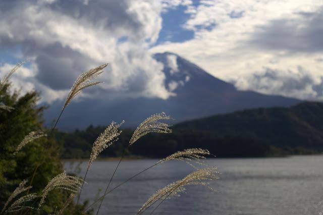 ニッコールオート50mmf2 河口湖の富士山