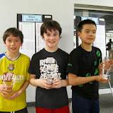 BU 11: Finalist - Andrew Weissman (North Andover, MA); Champion - Jameson Mannix (Weston, MA); 3rd Place - Lachlan Sutton (Cambridge, MA)