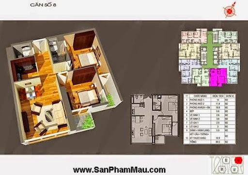 """Hàng chục dự án căn hộ giá rẻ sắp """"bung"""" hàng - nội thất căn hộ-1"""