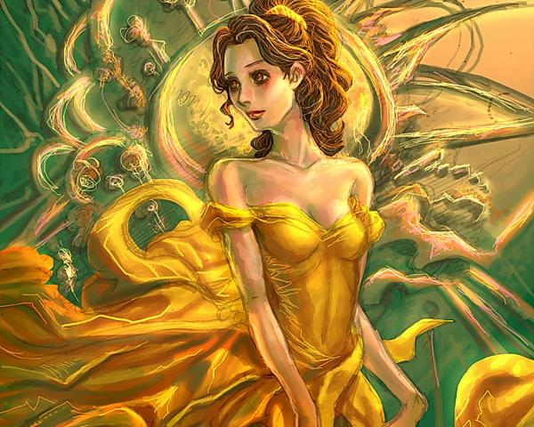 Magic Princess In Yellow Dress, Fairies 2