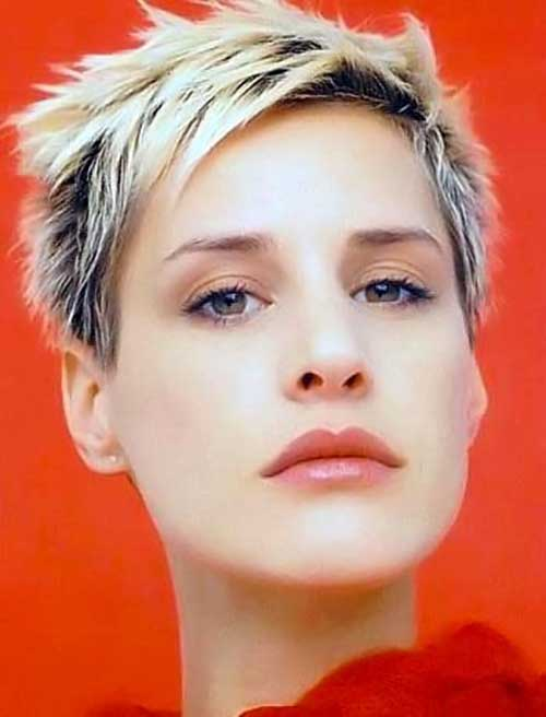 CRAZY SPIKY SHORT HAIRCUTS FOR LADIES &OLDER WOMEN 10