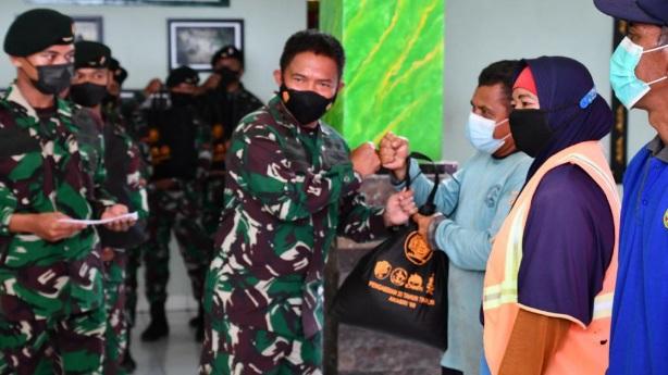 Meriahkan HUT TNI Ke-76, Altar 89 Gelar Baksos dan Vaksinasi di Makoyonif RK 136/TS