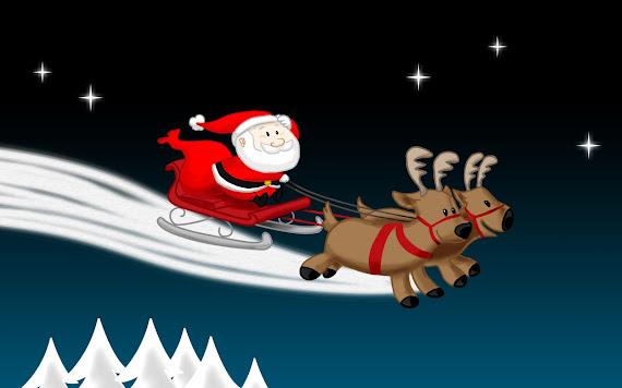 besplatne Božićne pozadine za desktop 1680x1050 free download čestitke blagdani Merry Christmas Djed Božićnjak