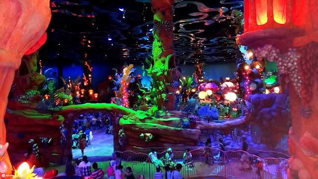 inside the Mermaid Lagoon at Tokyo DisneySea in Urayasu, Tiba (Chiba) , Japan