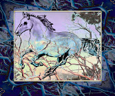 """The """"Blue Stallion"""" piece from the """"2006"""" collection"""