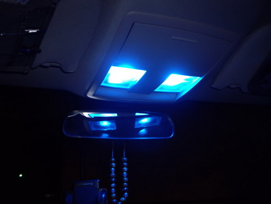 Dodge Interior Lights Installation