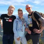 Matt, Esther & Marcel in Banff, Alberta in Calgary, Alberta, Canada