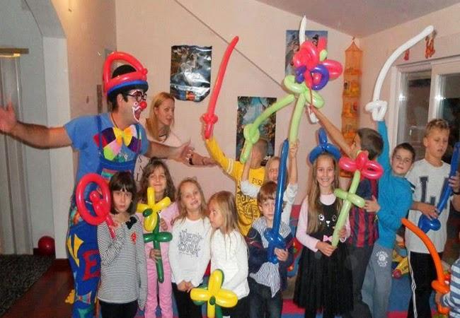 igre za dječji rođendan Klaun Šarenko   Google+ igre za dječji rođendan