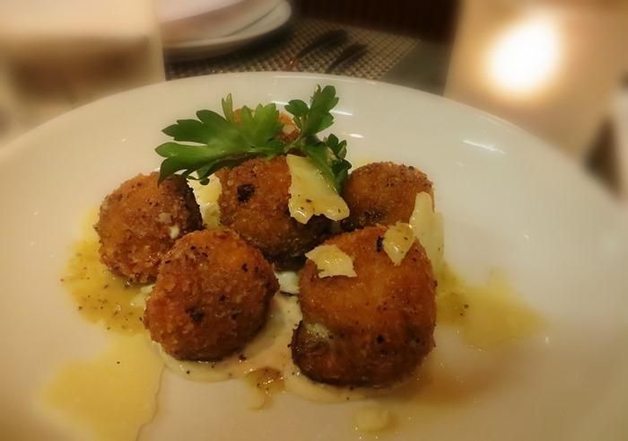 Fig & Olive Truffle Mushroom Croquettes