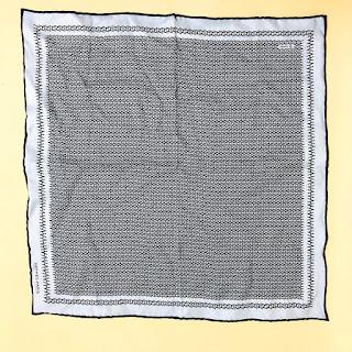 "Hermès ""H"" Handkerchief"