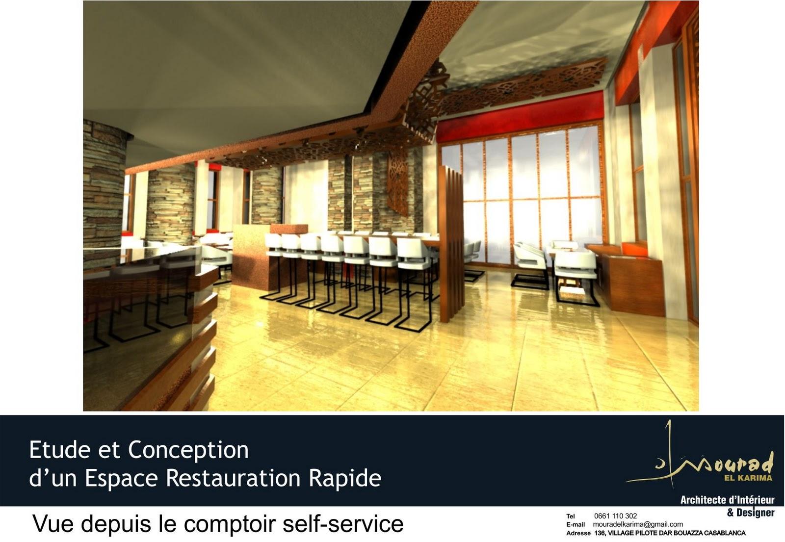 Concept d 39 architecture d int rieur restaurant traiteur for Qu est ce qu un architecte d interieur