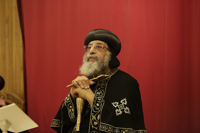 His Holiness Pope Tawadros II visit to St. Mark LA - _09A9090.JPG