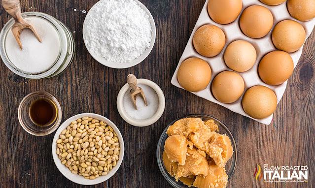 pine nut cookies ingredients