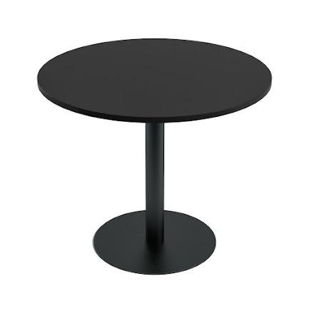 Cafébord 900 diam svart