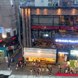 view from my apartment in Hongdae in Seoul, Seoul Special City, South Korea