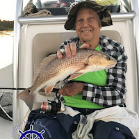 Mom with a nice RedFish 08-04-2018