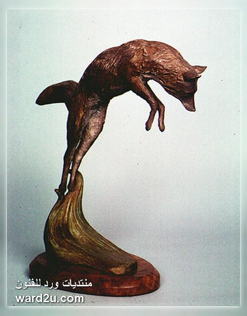 اعمال تعبيرية في منحوتات الفنان Jim Callahan