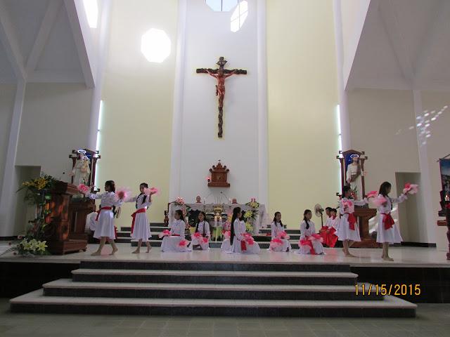 Giáo xứ Vĩnh An mừng lễ quan thầy các thánh tử đạo Việt Nam