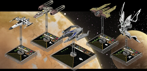 Wave 6 X-Wing
