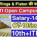 Shriram Pistons & Rings Pvt Ltd कंपनी में आई भर्ती | ITI Campus Placement | ITI Trade Job & Apprenticeship 2020