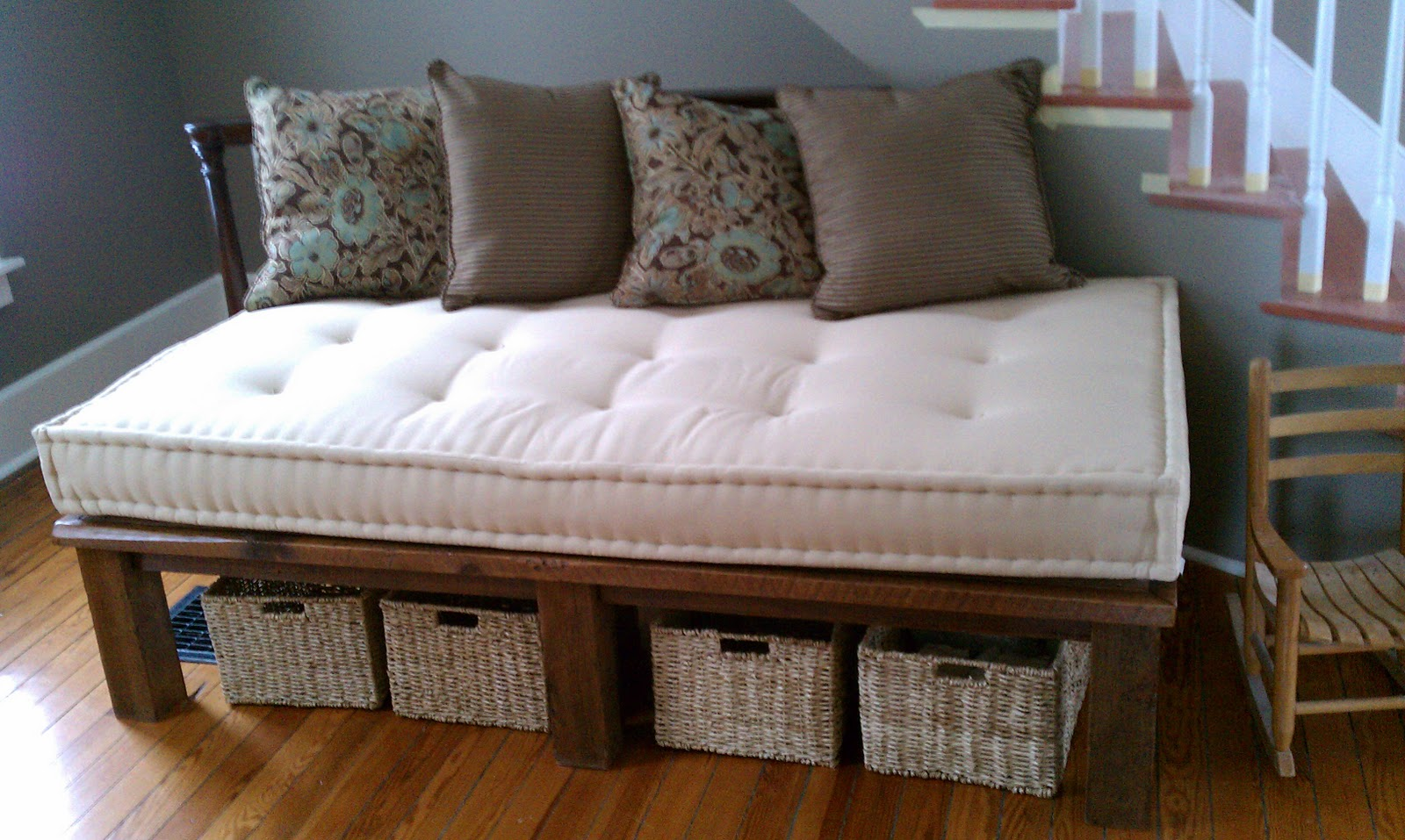Futon Frame To Match The Coffee Table