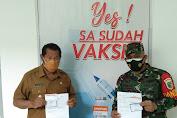 Bupati dan Dandim Laksanakan Vaksinasi di RSUD Wamena