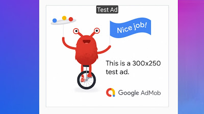 Enabling test ads | Android | Google Developers