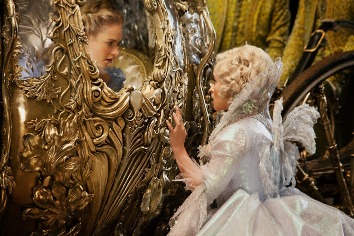 Have courage and be kind: Cinderella's Fairy Godmother sends her off to the ball #Cinderella