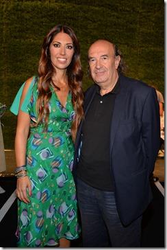 Lavinia Biagiotti con il Prof. Stefano Zecchi