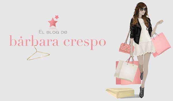 Bárbara Crespo, Blog