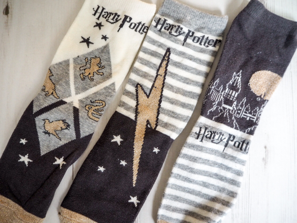 harry-potter-primark-haul-lifestyle-blog-harry-potter-homeware-harry-potter-socks-hogwarts