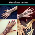 desenhar tatuagens de henna icon