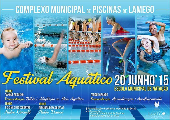 """Festival Aquático """"encerra"""" ano letivo das Piscinas Cobertas"""