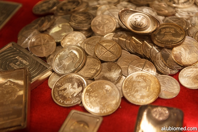 koleksi duit perak