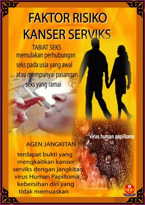 faktor kanser servik