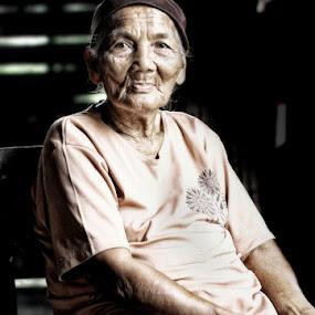 Grandmom by Iwan Mochammad - People Portraits of Women