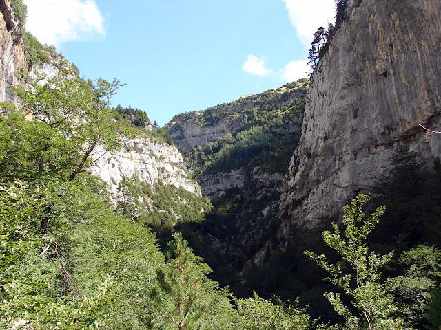 Senderismo - Cañón del Añisclo - Fuenblanca