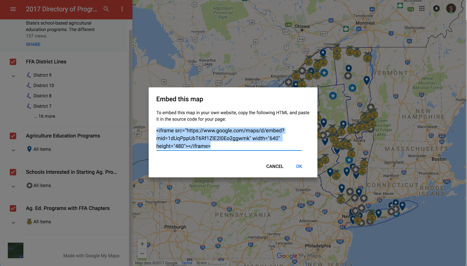embedding map on squarespace - Google Maps-Hilfe