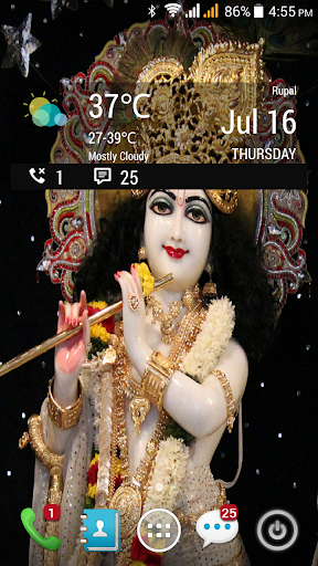 HD Radha Krishna LWP 1.04 screenshots 1