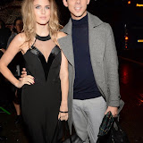 WWW.ENTSIMAGES.COM -    Ashley James and Matt Richardson arriving at     Hairfinity - launch party at Il Bottaccio, London November 8th 2014Louisiana based hair and beauty brand Hairfinity celebrates its launch in the UK                                                    Photo Mobis Photos/OIC 0203 174 1069