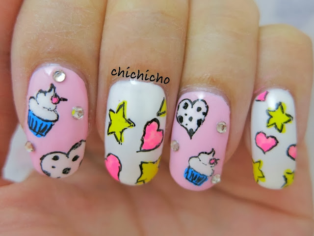 Sweet Little Cupcake Nail Art gel pen