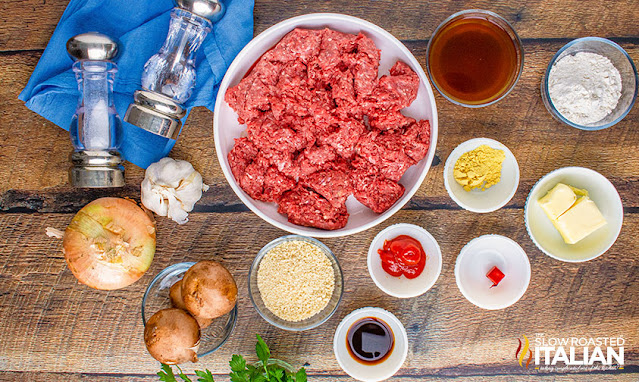 salisbury steak ingredients