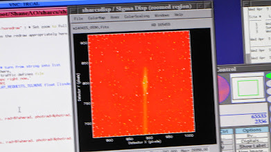 Photo: spectrograph slit