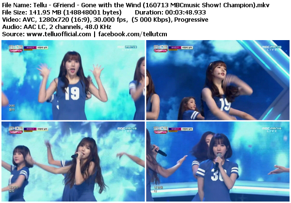 Download perf gfriend gone with the wind navillera mbcmusic show champion 160713 - Gone with the wind download ...