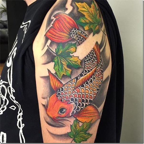 Tatuajes De Carpas Hermosas E Inspiradoras Tatuajes247