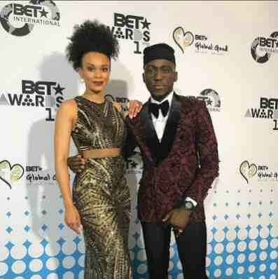 DJ Spinall Shares Pictures At BET 2017