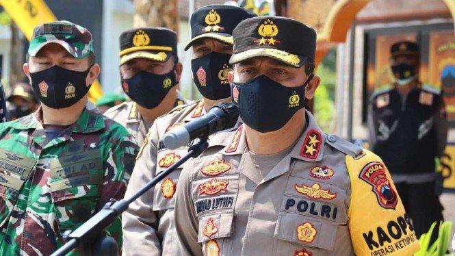 PPKM Darurat, Kapolda Jateng Kerahkan Pasukan Besar-besaran