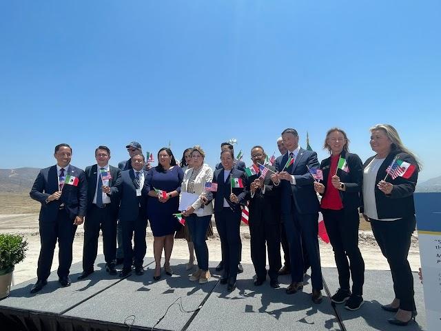 MÉXICO Y CALIFORNIA FIRMAN ACUERDO DE NUEVO MACROPROYECTO DE INFRAESTRUCTURA FRONTERIZA.