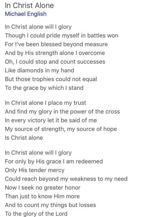 Romans Ten Fifteen: Beautiful Feet: In Christ Alone